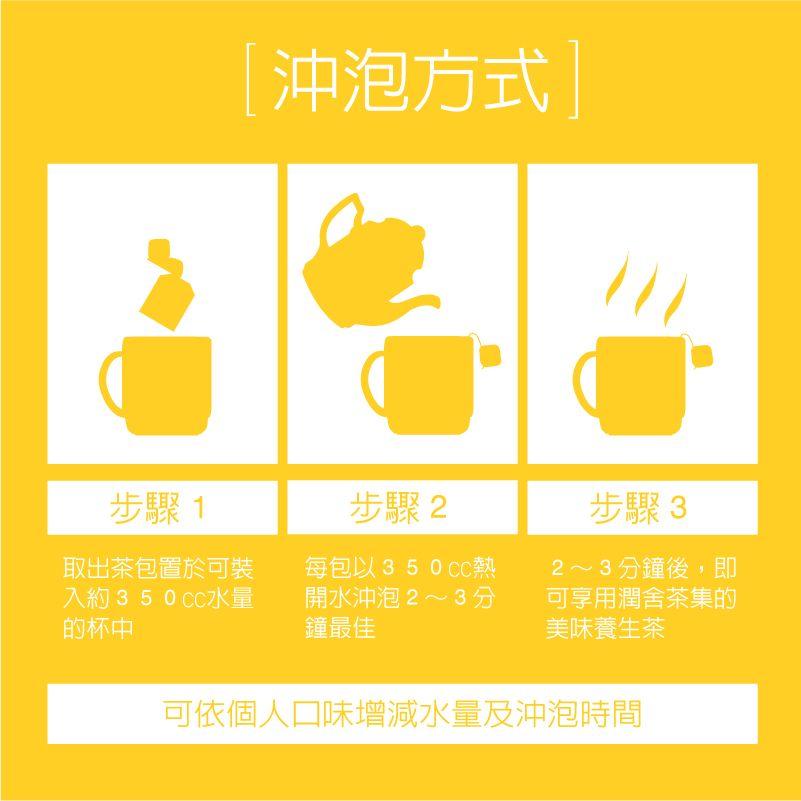 潤舍茶集-沖泡方式